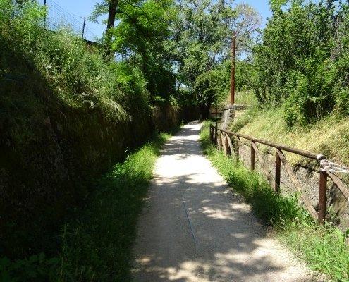 Sentiero della Vecchia Ferrovia e Laiala San Marino Trekking outdoor