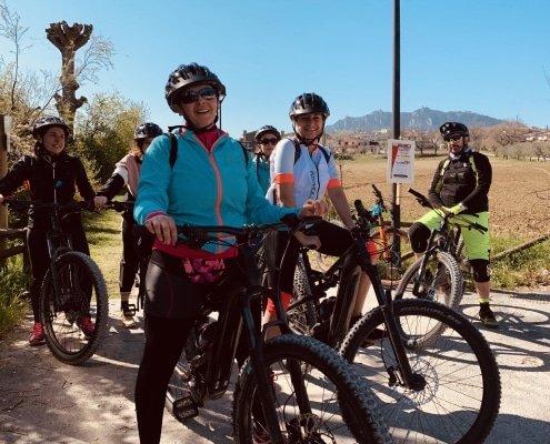 escursione, MTB, emtb, ebike, Mountain bike, accompagnatore ebike san marino monte titano percorso ferrovia arboreto parco laiala percorso per tutti escursione San Marino