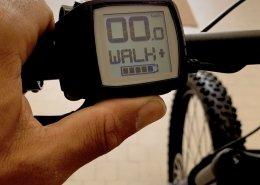 tasto WALK bosch ebike cannondale moterra san marino bike experience MTB pedalata assistita